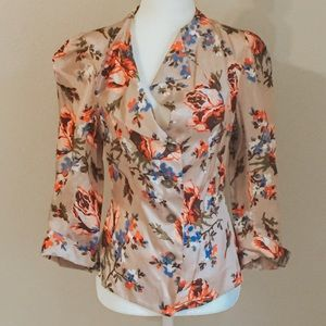 Vivienne Westwood NWOT Anglomania floral blouse
